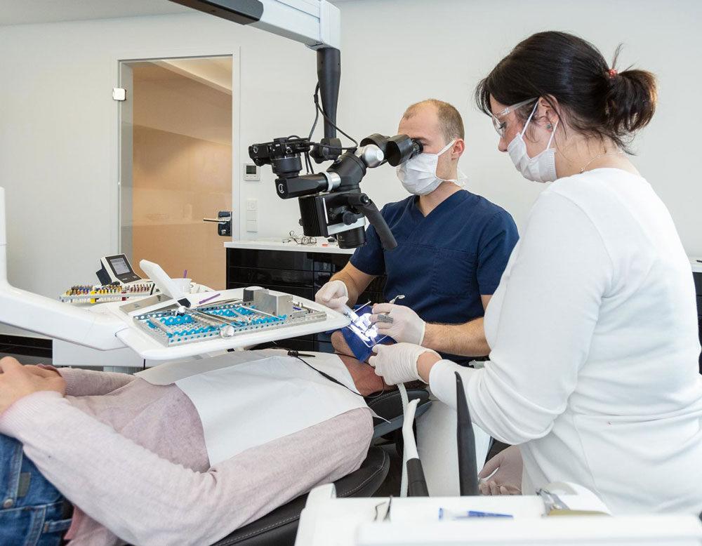 Intraorale Kamera der Zahnklinik